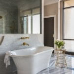 Hadinger Flooring for Transitional Bathroom with Periwinkle