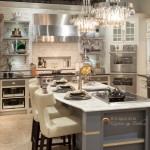 Hahn Appliance for Transitional Kitchen with Corner Ovens