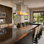 Hammerton Lighting for Contemporary Kitchen with Centerpiece
