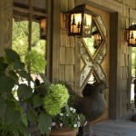 Hammerton Lighting for Rustic Entry with Cabin