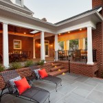 Hanson Brick for Traditional Exterior with Outdoor Living