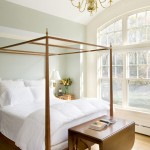 Harden Furniture for Traditional Bedroom with Wood Flooring