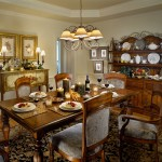 Harden Furniture for Traditional Dining Room with Chair Rail