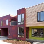 Hardiepanel for Contemporary Exterior with Cubist