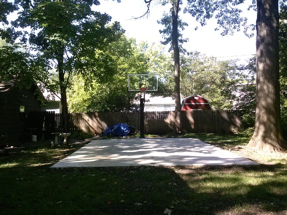 Hastings Lawrence Ks for Traditional Landscape with Adjustable Basketball Hoop