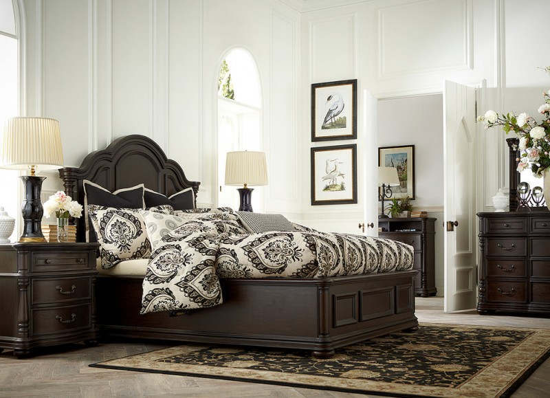 Haverty Furniture for Traditional Bedroom with Traditional