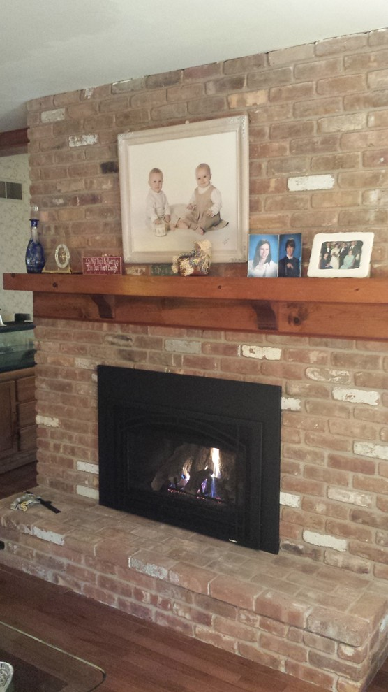 Heatilator for Traditional Spaces with Gas Fireplace Insert