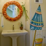 Helm Paint for Eclectic Bathroom with Bathroom Mirror
