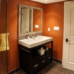 Helm Paint for Traditional Bathroom with Tile Floor