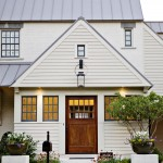 Helm Paint for Traditional Exterior with Wood Door