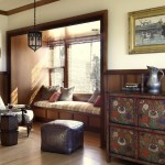 Helm Paint for Traditional Living Room with Window Seat