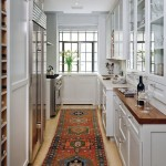 Helm Paint for Transitional Kitchen with Galley