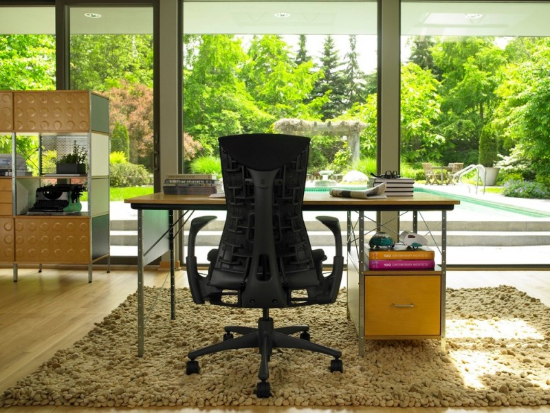 Herman Miller Outlet for Modern Home Office with Glass Door