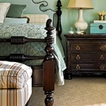 Hickory Chair Furniture for Traditional Bedroom with Four Poster Bed