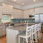 High Tide Charleston Sc for Beach Style Kitchen with Gray Countertop