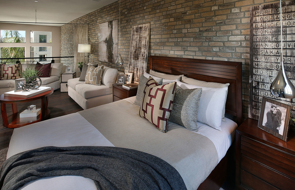 Hillmeade Apartments for Contemporary Bedroom with Veneer