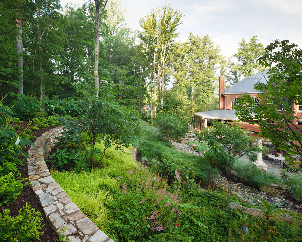 Hillmeade Apartments for Traditional Landscape with River Rock