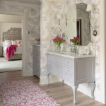 Hirshfields for Traditional Bathroom with Color