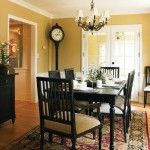 Hirshfields for Traditional Dining Room with Painted Wall