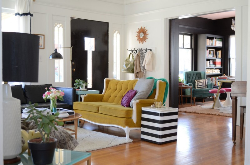 Hobby Lobby Amarillo Tx for Eclectic Living Room with Green Couch