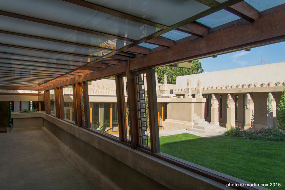 Hollyhock House for Craftsman Hall with Frank Lloyd Wright
