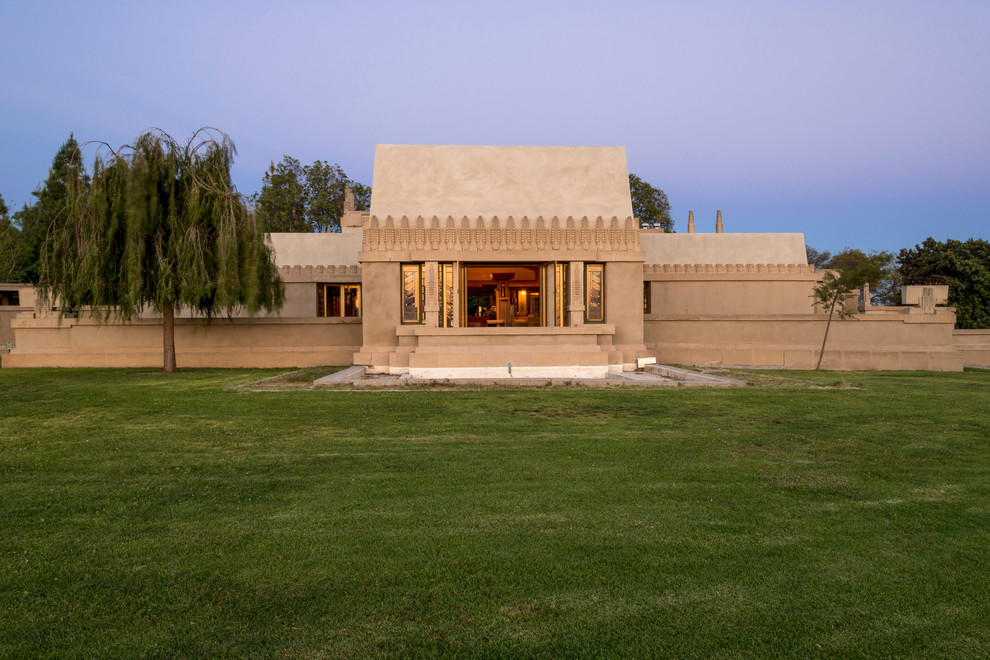 Hollyhock House for Modern Exterior with Modern