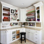 Holy Lamb Organics for Traditional Home Office with White Cabinets