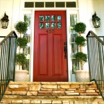 Home Depot Ashburn for Traditional Entry with House Number