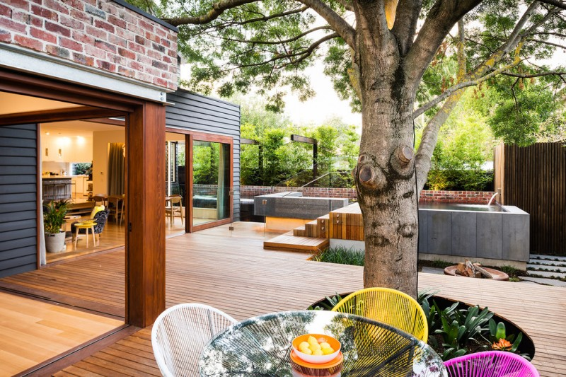 Home Depot Deck Designer for Contemporary Deck with Contemporary Design