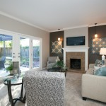 Home Depot Derby Ct for Contemporary Family Room with Wood Fence