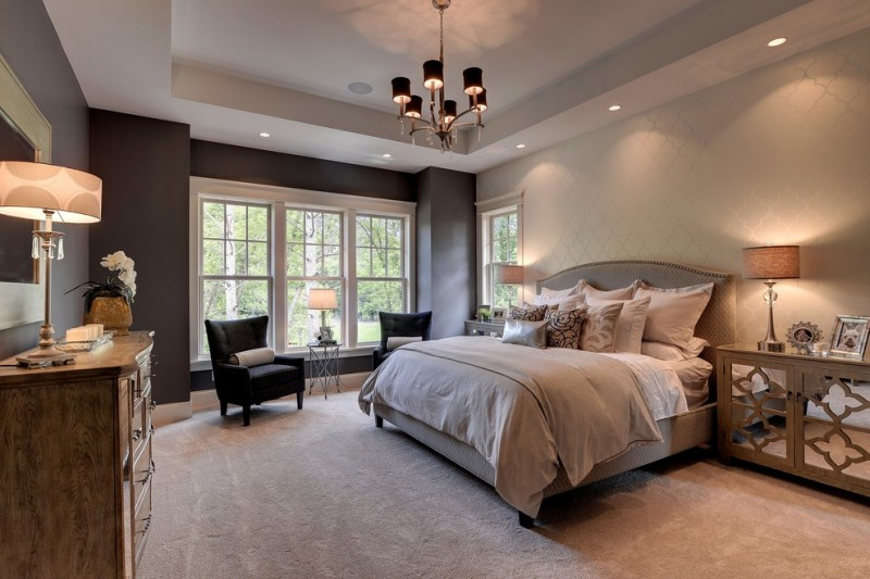 Home Depot Eden Prairie for Traditional Bedroom with Recessed Lights