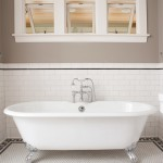 Home Depot Grout Colors for Traditional Bathroom with Tile Border