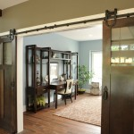 Home Emporium Cincinnati for Traditional Home Office with Wood Flooring