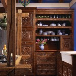 Homewise Santa Fe for Mediterranean Kitchen with Open Shelves