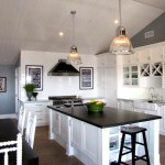 Honed Granite for Beach Style Kitchen with Marble