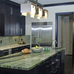 Honed Granite for Contemporary Kitchen with Miele