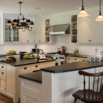 Honed Granite for Traditional Kitchen with Apron Sink