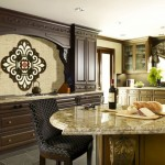 Honed Marble for Modern Kitchen with Decorative Tiles