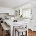 Honed Marble for Traditional Kitchen with Counter Stools