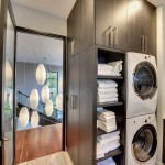 Hotel Sacher Salzburg for Contemporary Laundry Room with Stackable Washer and Dryer