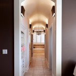 Hotel Sacher Salzburg for Eclectic Hall with Dark Walls