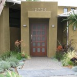 House Umber for Contemporary Exterior with Metal Sconces