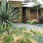 House Umber for Contemporary Landscape with Entrance
