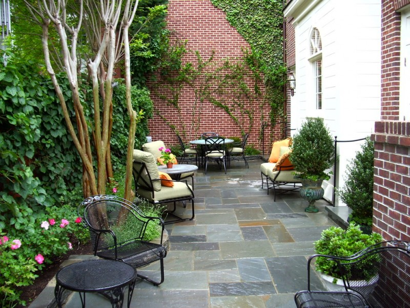 How to Build a Paver Patio for Traditional Patio with Potted Plants