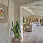 How to Clean Engineered Hardwood Floors for Beach Style Hall with Neutral Colors