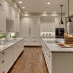 How to Clean Engineered Hardwood Floors for Transitional Kitchen with Induction Cooktop