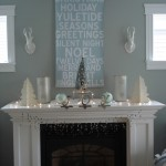How to Decorate a Fireplace Mantel for Contemporary Living Room with Traditional Fireplace