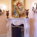 How to Decorate a Fireplace Mantel for Traditional Family Room with Fireplace Mantel