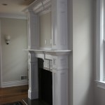 How to Decorate a Fireplace Mantel for Traditional Living Room with Paneling