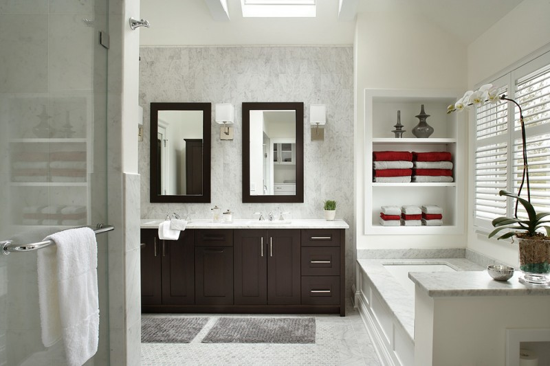How to Install Wainscoting for Transitional Bathroom with Subtle